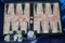 Image of mexican onyx backgammon set, small