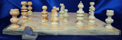 Image of mexician onyx chess set, large